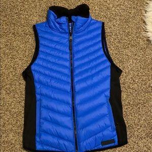 Calvin Klein blue active vest